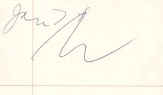 ANDY WARHOL - AUTOGRAPH 1/7