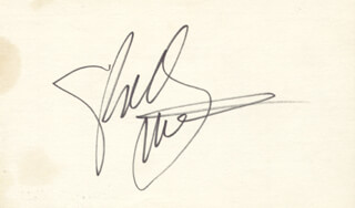 SHELLEY WINTERS - AUTOGRAPH