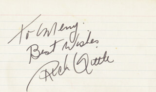 RICH LITTLE - AUTOGRAPH NOTE SIGNED