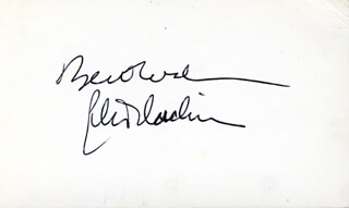 PETER DUCHIN - AUTOGRAPH SENTIMENT SIGNED