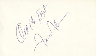 FRANKIE AVALON - AUTOGRAPH SENTIMENT SIGNED