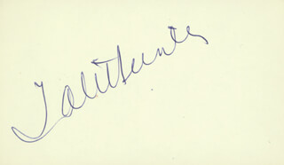 TAB HUNTER - AUTOGRAPH