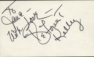 DEFOREST KELLEY - AUTOGRAPH NOTE SIGNED