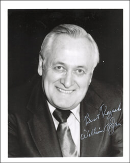 GOVERNOR WILLIAM A. EGAN - AUTOGRAPHED SIGNED PHOTOGRAPH