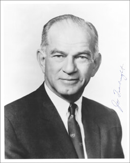J. WILLIAM FULBRIGHT - AUTOGRAPHED SIGNED PHOTOGRAPH