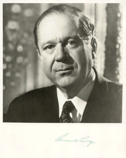 RUSSELL LONG - AUTOGRAPHED SIGNED PHOTOGRAPH