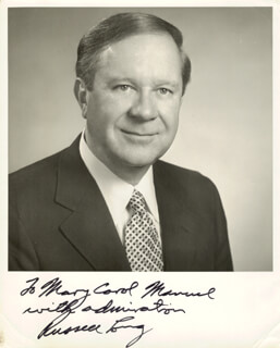 RUSSELL LONG - AUTOGRAPHED INSCRIBED PHOTOGRAPH