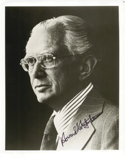 HOWARD METZENBAUM - AUTOGRAPHED SIGNED PHOTOGRAPH
