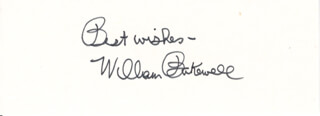 WILLIAM BAKEWELL - AUTOGRAPH SENTIMENT SIGNED