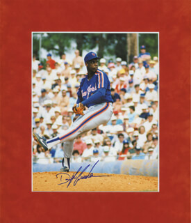 DWIGHT DOC GOODEN - AUTOGRAPHED SIGNED PHOTOGRAPH