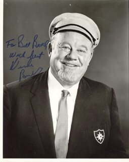BURL IVES - AUTOGRAPHED INSCRIBED PHOTOGRAPH