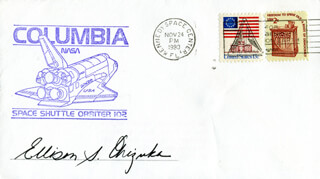 LT. COLONEL ELLISON S. EL ONIZUKA - COMMEMORATIVE ENVELOPE SIGNED