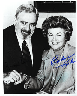 BARBARA HALE - AUTOGRAPHED SIGNED PHOTOGRAPH