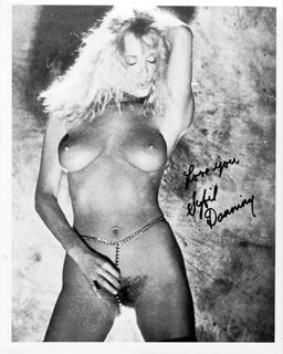 SYBIL DANNING - AUTOGRAPHED SIGNED PHOTOGRAPH