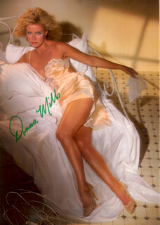 DONNA MILLS - MAGAZINE PHOTOGRAPH SIGNED