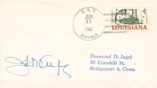 Autographs: JOHN M. ALFORD - ENVELOPE SIGNED