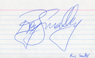 ROY SMALLEY III - AUTOGRAPH