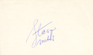 STAN (STANLEY ROGER) SMITH - AUTOGRAPH