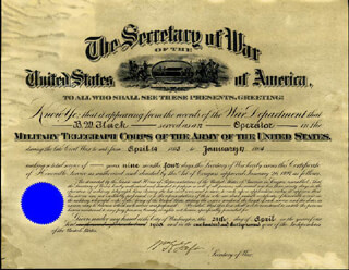 PRESIDENT WILLIAM H. TAFT - DOCUMENT SIGNED 04/24/1908