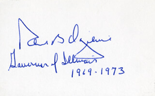 GOVERNOR RICHARD B. OGILVIE - AUTOGRAPH