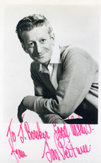 JON PERTWEE - AUTOGRAPHED INSCRIBED PHOTOGRAPH
