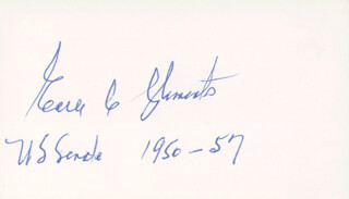 EARLE C. CLEMENTS - AUTOGRAPH