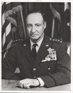 GENERAL JOHN P. MCCONNELL - AUTOGRAPHED SIGNED PHOTOGRAPH 10/1963