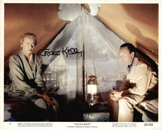 Autographs: PRINCESS GRACE KELLY (MONACO) - PHOTOGRAPH SIGNED