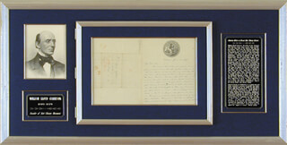 WILLIAM LLOYD GARRISON - AUTOGRAPH LETTER SIGNED 06/21/1847