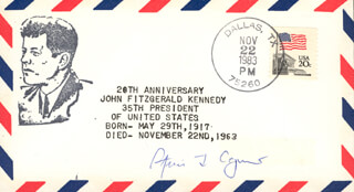 Autographs: VICE PRESIDENT SPIRO T. AGNEW - COMMEMORATIVE ENVELOPE SIGNED
