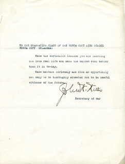 JOHN W. WEEKS - TYPED STATEMENT SIGNED