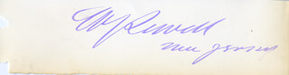 MAJOR GENERAL WILLIAM JOYCE SEWELL - AUTOGRAPH