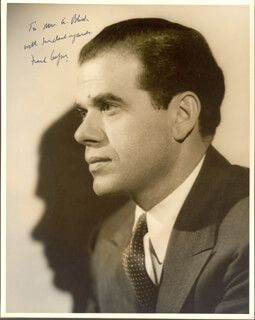 FRANK CAPRA - AUTOGRAPHED INSCRIBED PHOTOGRAPH