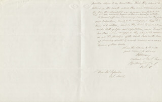 Autographs: MAJOR GENERAL WILLIAM H. EMORY - AUTOGRAPH LETTER SIGNED 05/06/1866