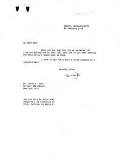 Autographs: REAR ADMIRAL RICHARD E. BYRD - TYPED LETTER SIGNED 02/13/1932