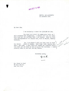 Autographs: REAR ADMIRAL RICHARD E. BYRD - TYPED LETTER SIGNED 12/11/1931