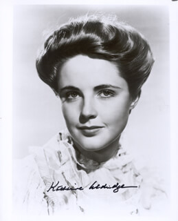 Autographs: KAY (KATHARINE) ALDRIDGE - PHOTOGRAPH SIGNED