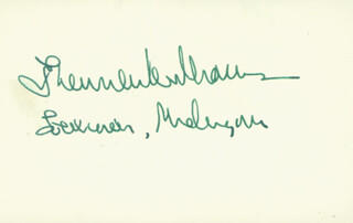 G. MENNEN SOAPY WILLIAMS - AUTOGRAPH