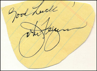 JOE FERGUSON - AUTOGRAPH SENTIMENT SIGNED  - HFSID 87779