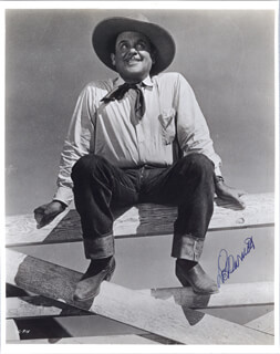 LEO PANCHO CARRILLO - AUTOGRAPHED SIGNED PHOTOGRAPH