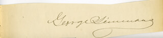 GEORGE SIMMONS - AUTOGRAPH
