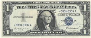 Autographs: ROBERT B. ANDERSON - CURRENCY SIGNED