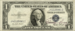 Autographs: GEORGE M. HUMPHREY - CURRENCY SIGNED