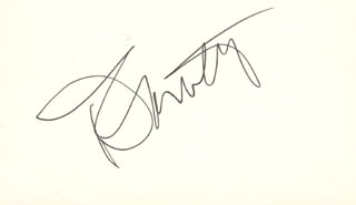 THE WHO (ROGER DALTREY) - AUTOGRAPH