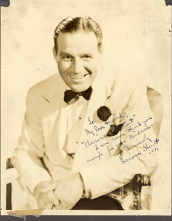 HORACE HEIDT - AUTOGRAPHED INSCRIBED PHOTOGRAPH 1939