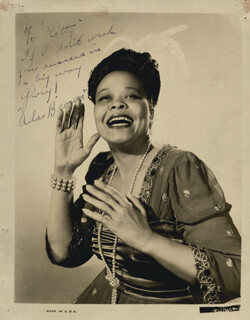 ADA BROWN - AUTOGRAPHED INSCRIBED PHOTOGRAPH
