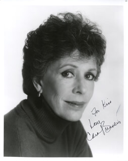 CAROL BURNETT - AUTOGRAPHED INSCRIBED PHOTOGRAPH