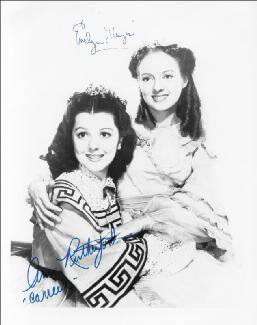 GONE WITH THE WIND MOVIE CAST - AUTOGRAPHED SIGNED PHOTOGRAPH CO-SIGNED BY: ANN RUTHERFORD, EVELYN KEYES