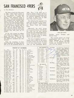 JOHN BRODIE - MAGAZINE ARTICLE SIGNED CIRCA 1962
