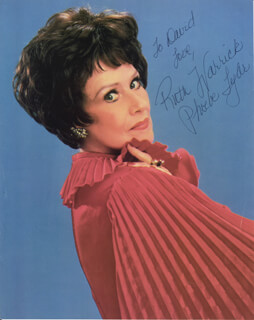 RUTH WARRICK - AUTOGRAPHED INSCRIBED PHOTOGRAPH